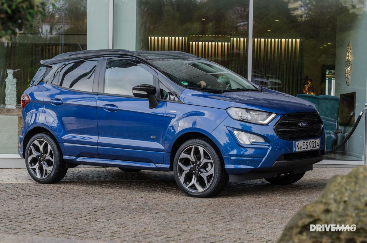Fiesta St Line 140 >> 2018 Ford EcoSport ST Line road test review