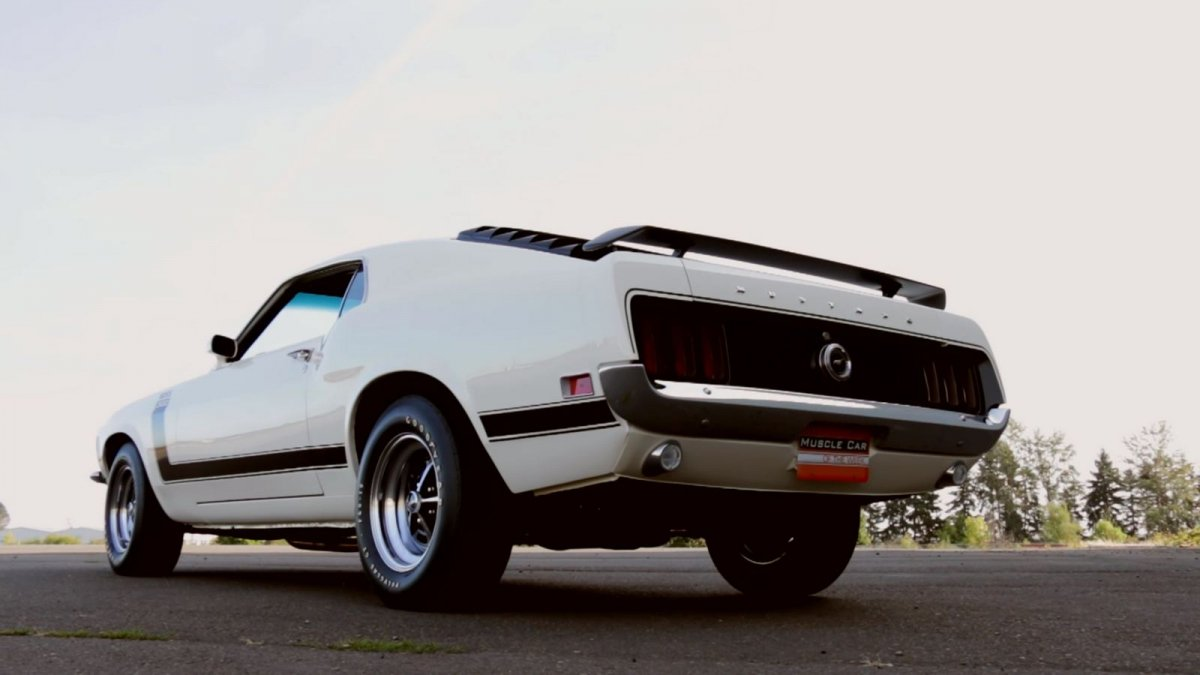 1970 Ford Mustang Boss 302 A