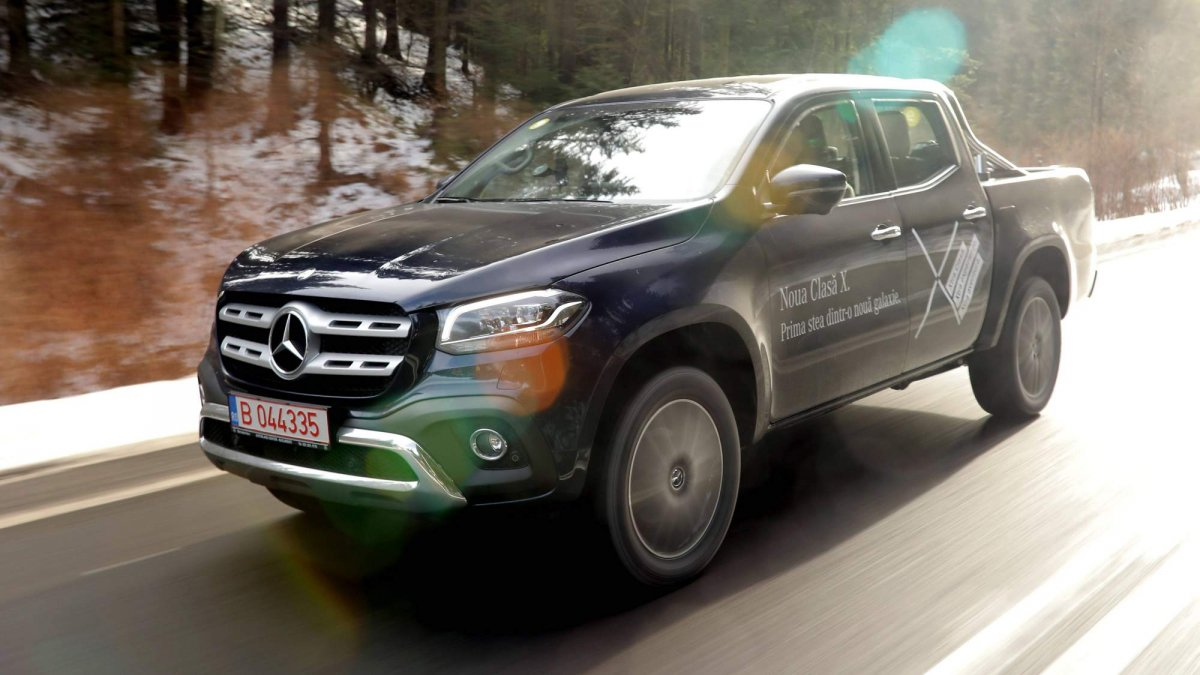 We Drive The New X Class To Find Out If It Is The Mercedes Benz Of