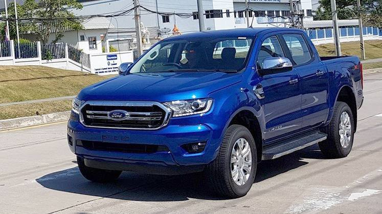 All New 2019 Ford Ranger Shows Up In Thailand Without