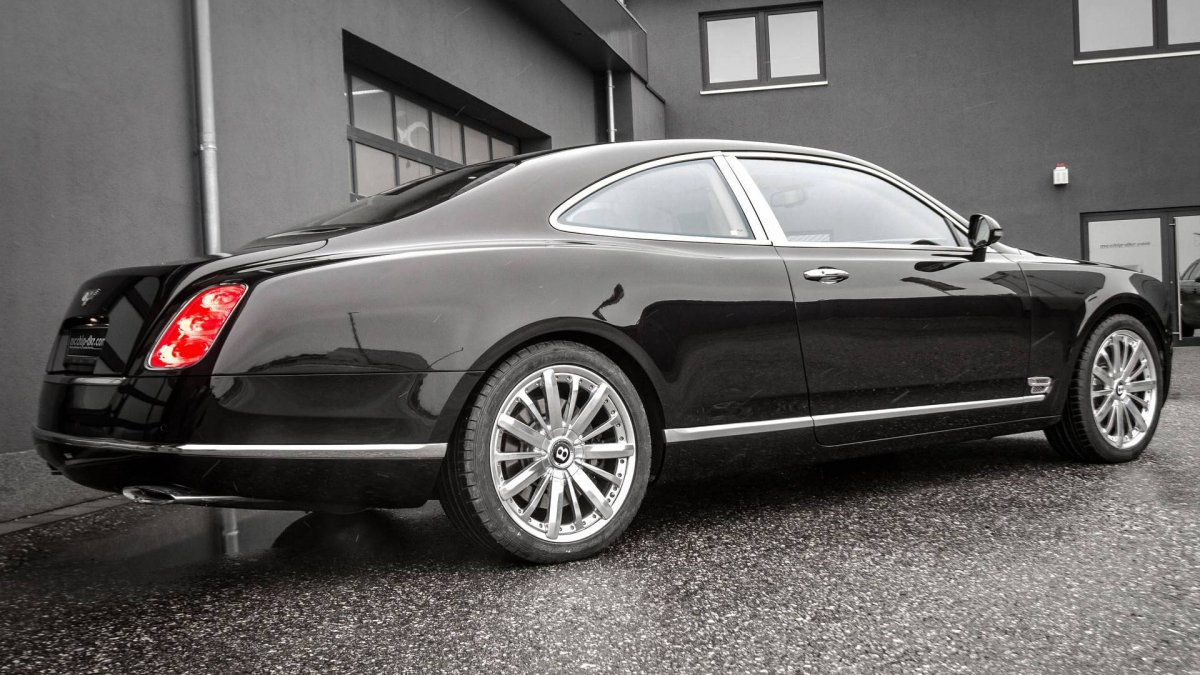 German tuner mcchip-dkr has completed the Bentley Mulsanne Coupe ...