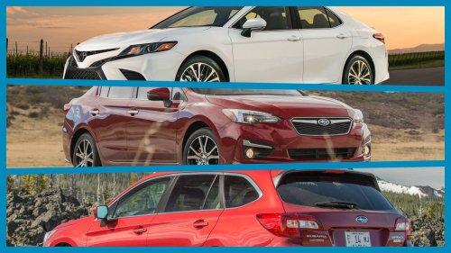 Toyota-Camry-Subaru-Impreza-Subaru-Outback