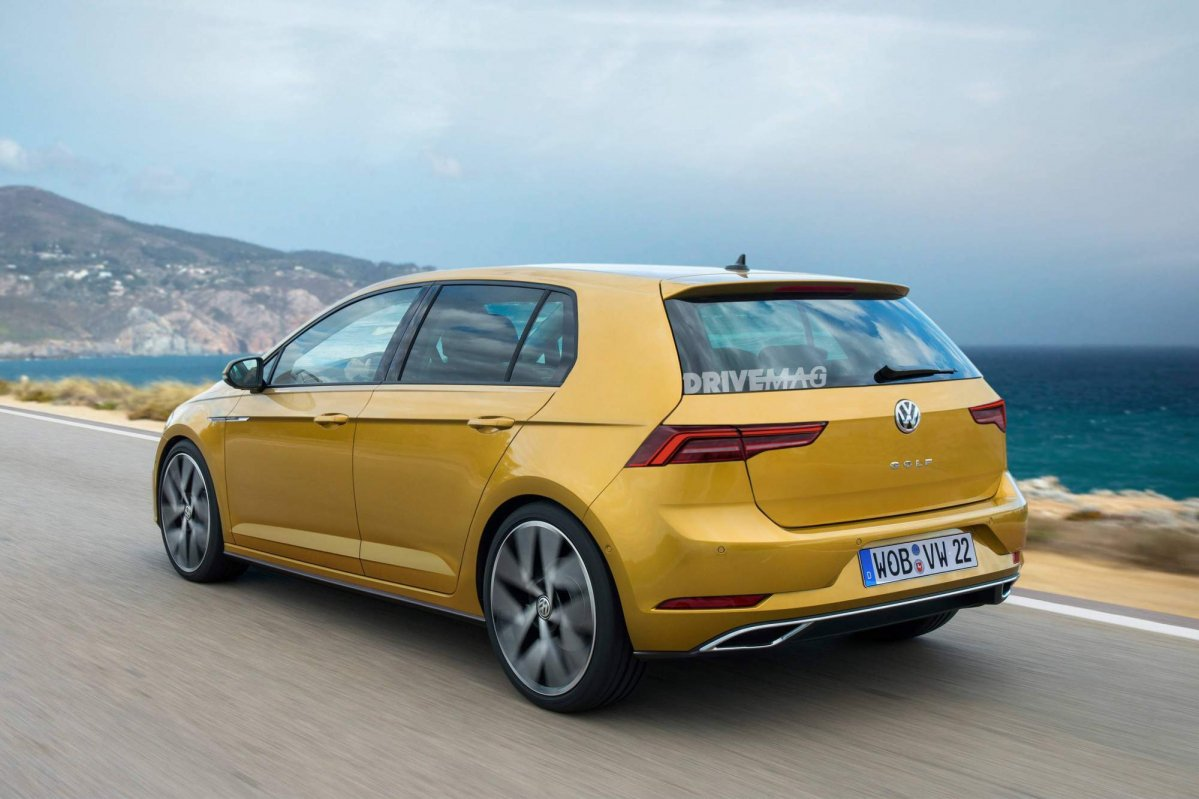 We Imagine A More Daring Design For The Vw Golf Mk8