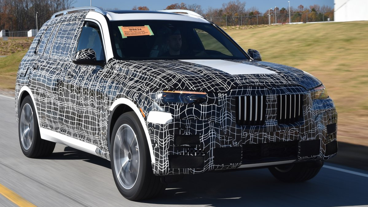 Bmw X7 Suv Front