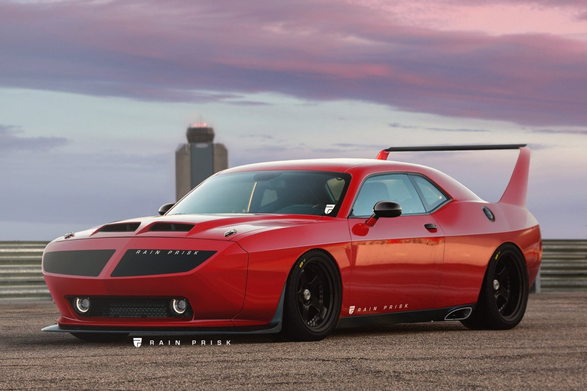 Jeep New Version >> Ever wondered what a modern day Dodge Challenger Daytona / Plymouth S...