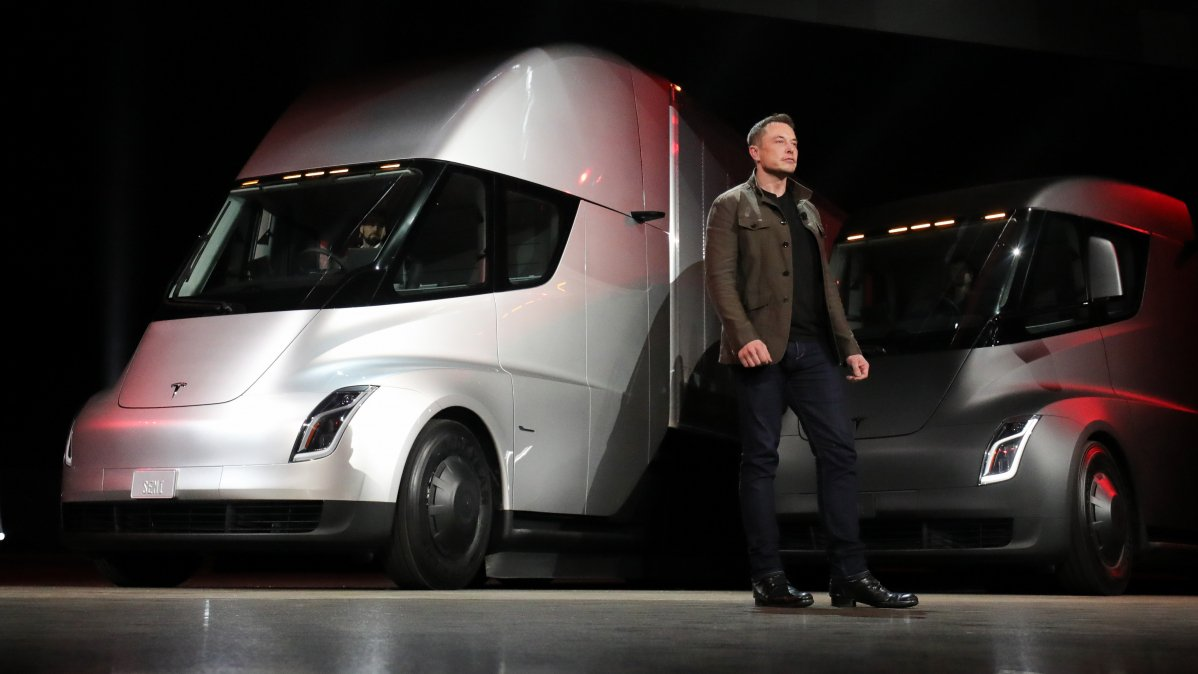 Biggest Ford Truck >> UPS pre-orders 125 Tesla Semi all-electric trucks