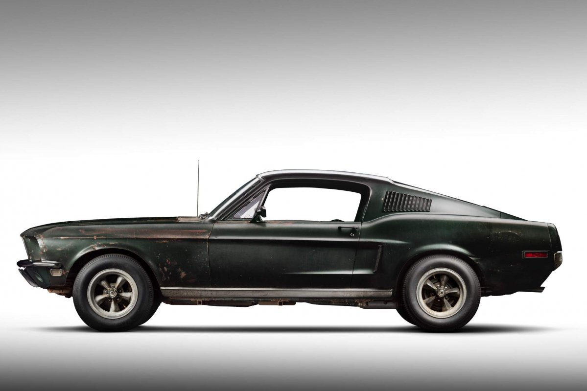 Original 1968 Bullitt Mustang Found Poses Alongside 2019