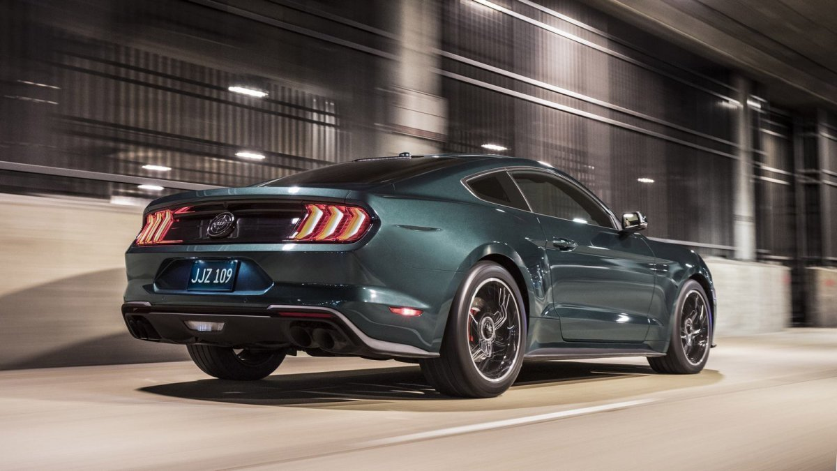 2019 ford mustang bullitt the legend revived. Black Bedroom Furniture Sets. Home Design Ideas