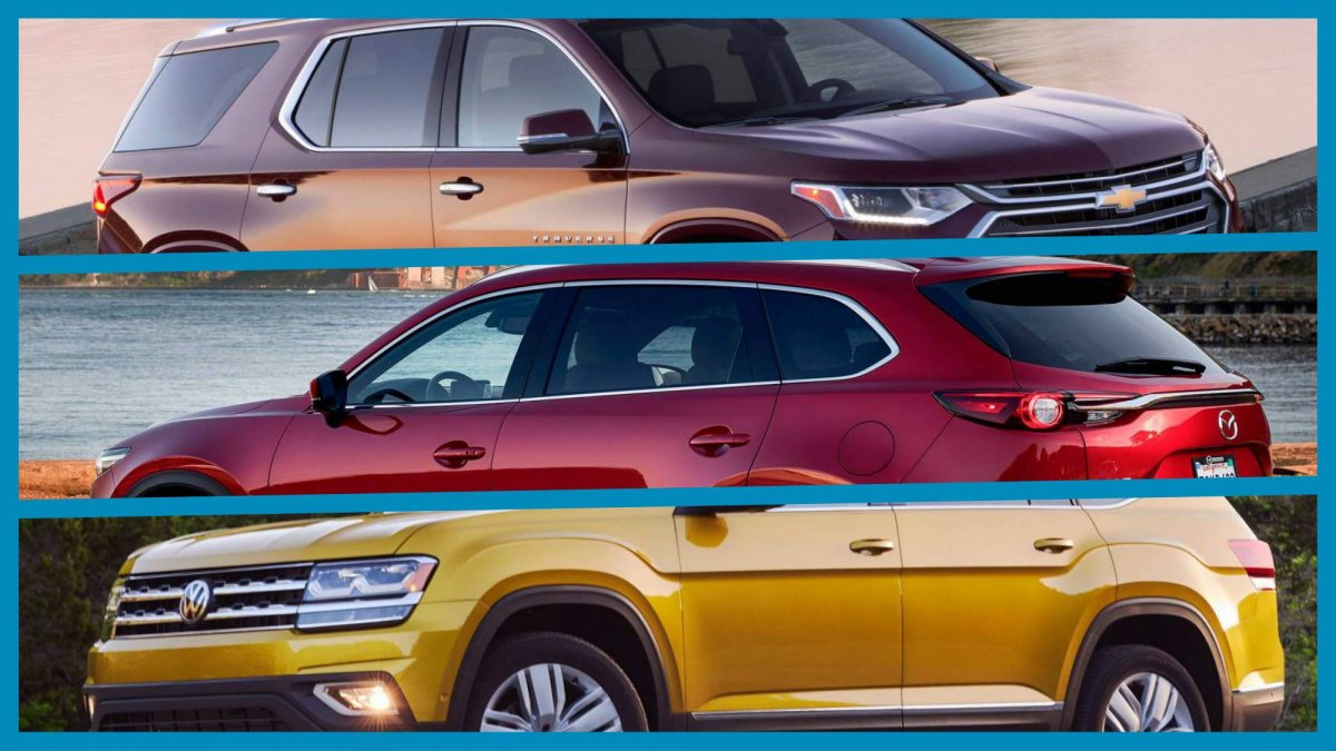 All Chevy big chevy suv : Top 10 three-row midsize SUVs for 2018 that are best for big families