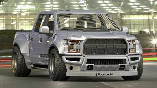 rocket bunny ford f-150 front