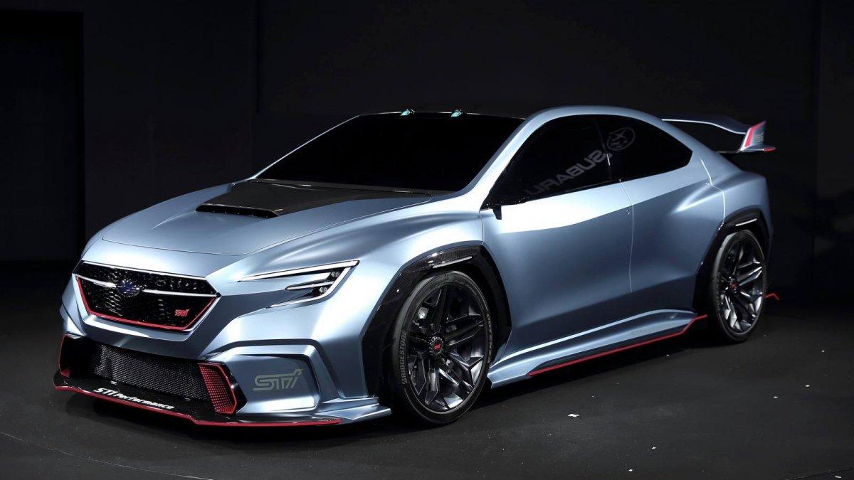 Subaru Viziv Performance STI Concept looks razor sharp in ...
