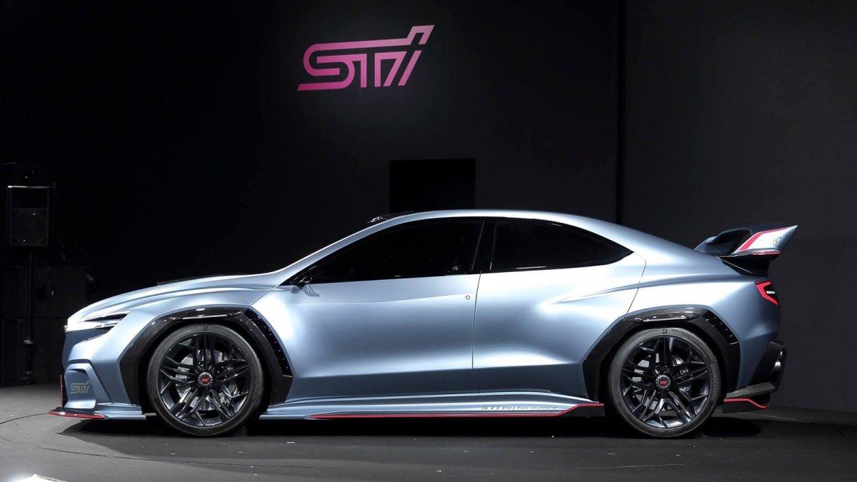 Subaru Viziv Performance Sti Concept Looks Razor Sharp In