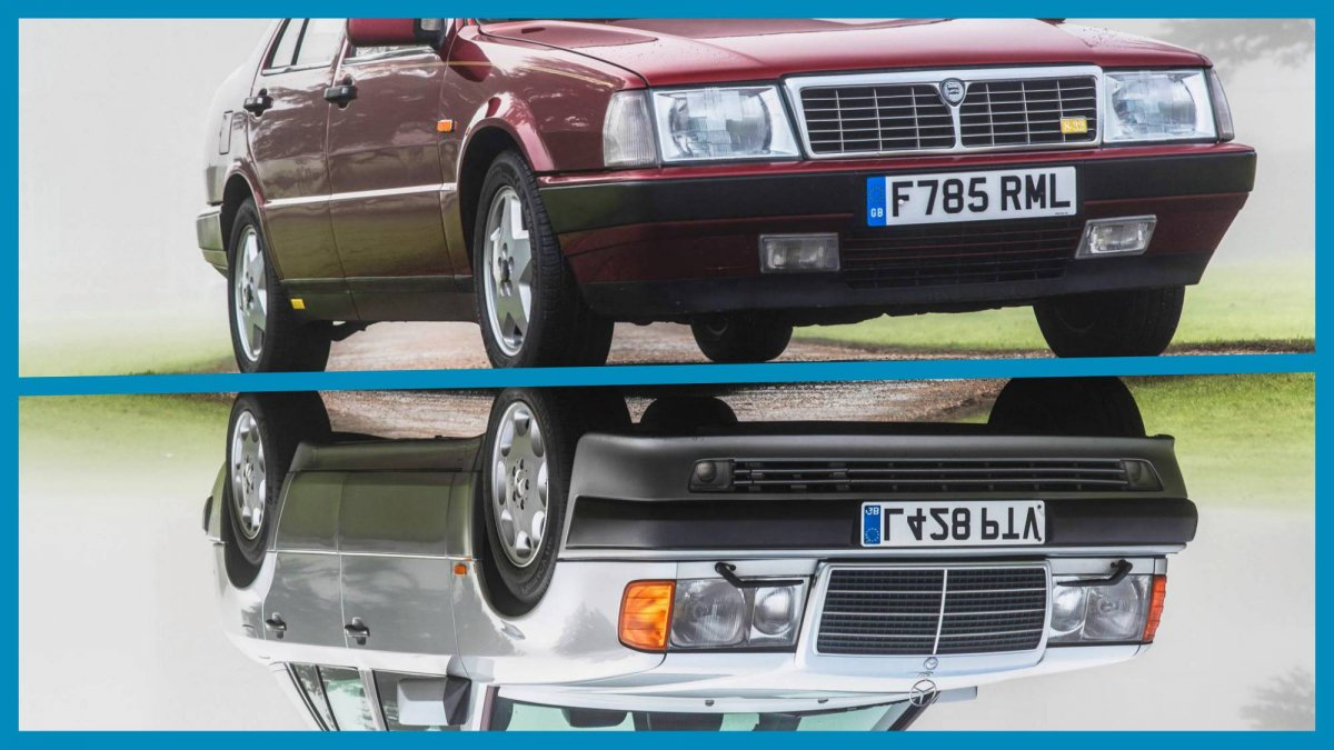 What Brands Does Volkswagen Own >> Rowan Atkinson parting ways with 1989 Lancia Thema 8.32 and 1993 Mercedes-Benz 500E