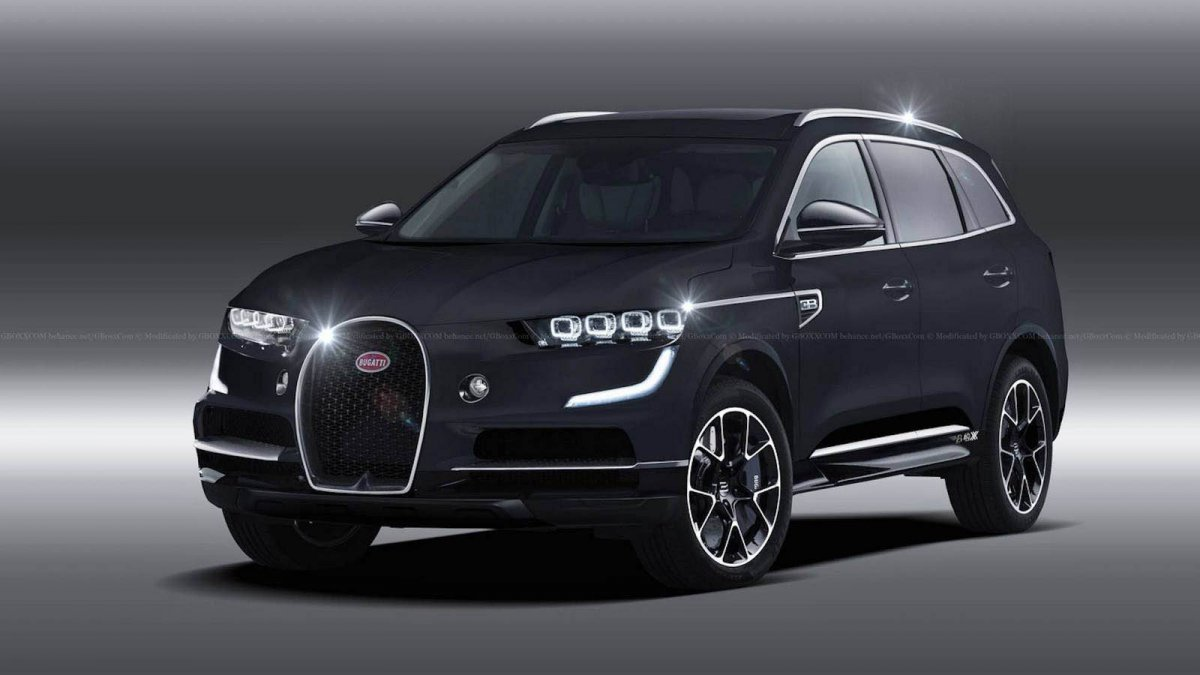 4x4 Bmw X7 >> 2020 Bugatti SUV render looks ready for production