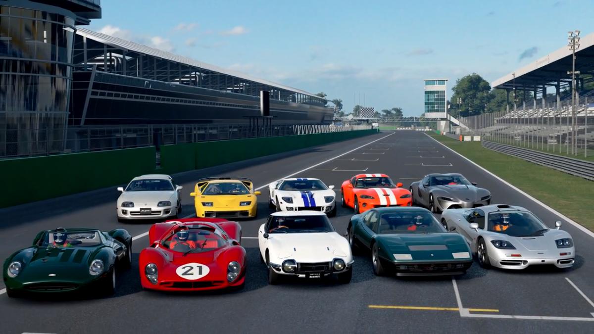 ... Gran Turismo Sport January Update Toyota McLaren Ferrari ...