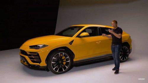 Lamborghini Urus Top Gear