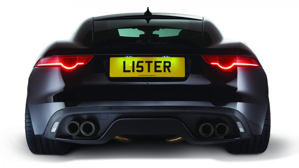 Lister Thunder is a Jaguar F-Type SVR taken to the extreme