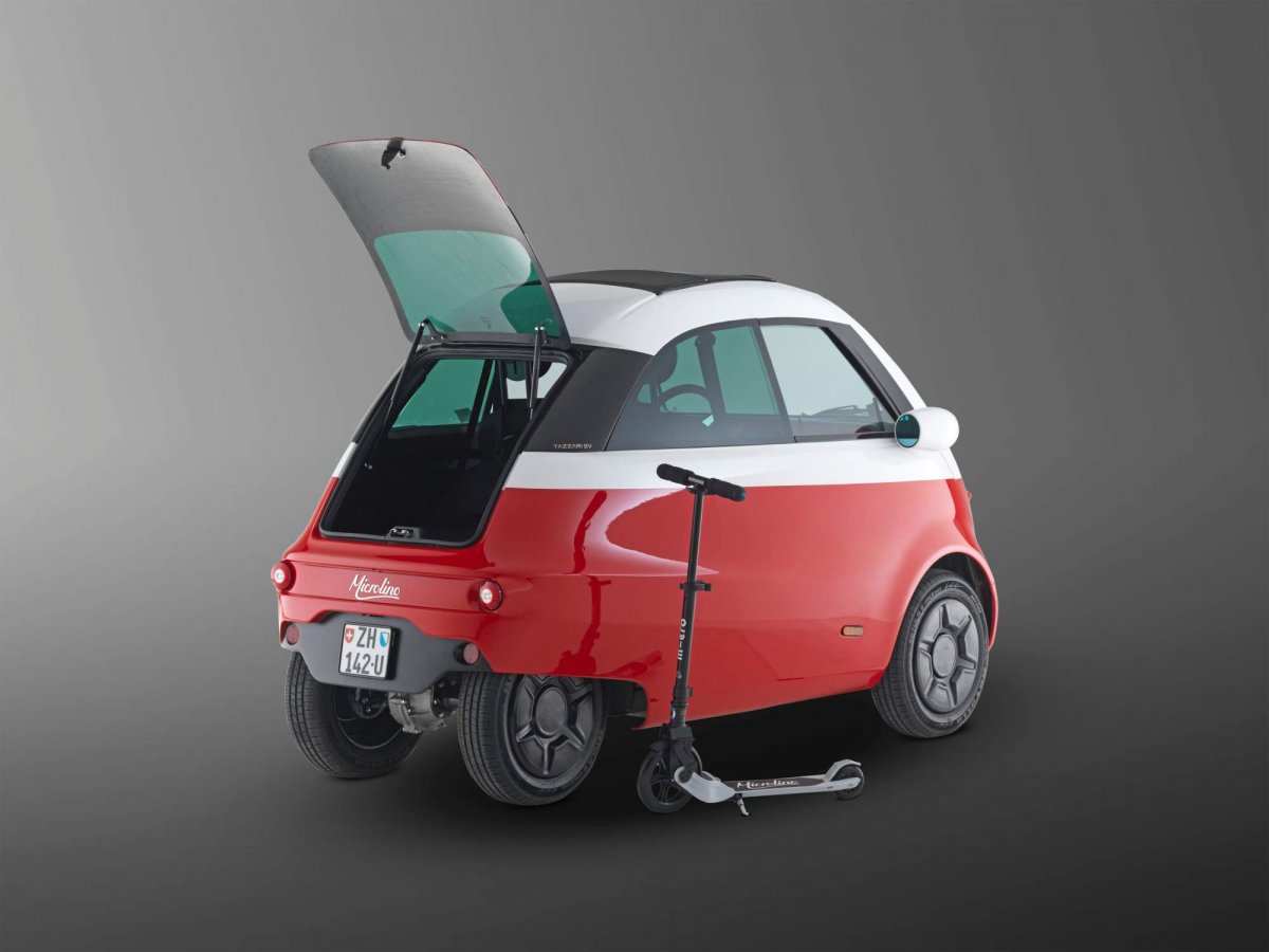 Swiss company brings back the Isetta as the all-electric Microlino