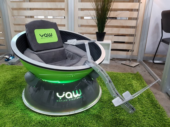 Meet Yaw The Most Affordable Vr Motion Simulator