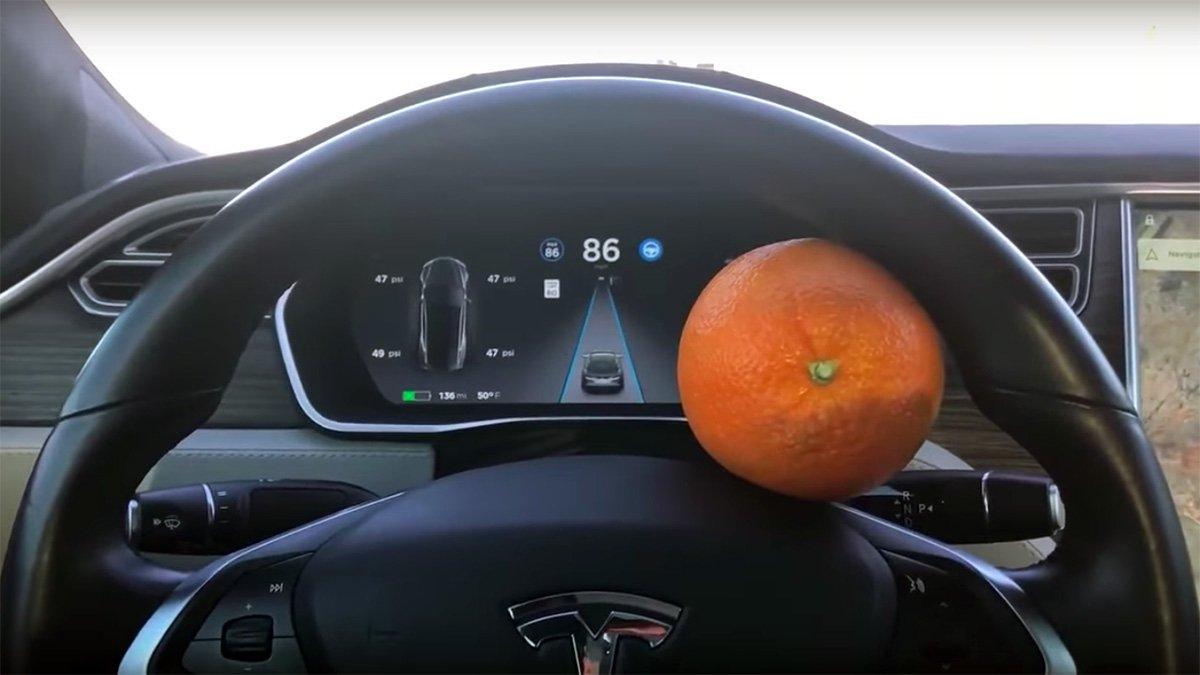 You Can Use Fruit To Trick Tesla Autopilot