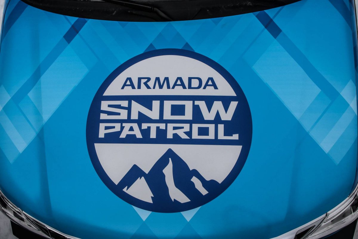 Nissan Builds Armada Snow Patrol One Off For 2018 Chicago