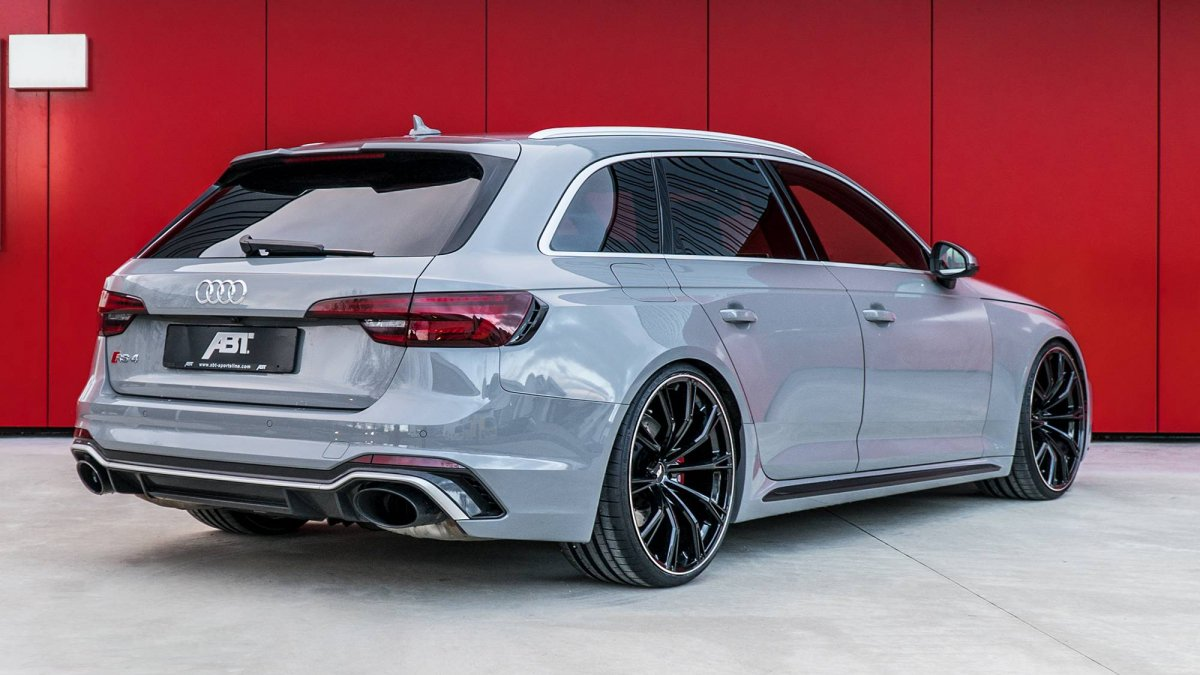 Abt Tuned Audi Rs4 Avant Makes 510 Horsepower