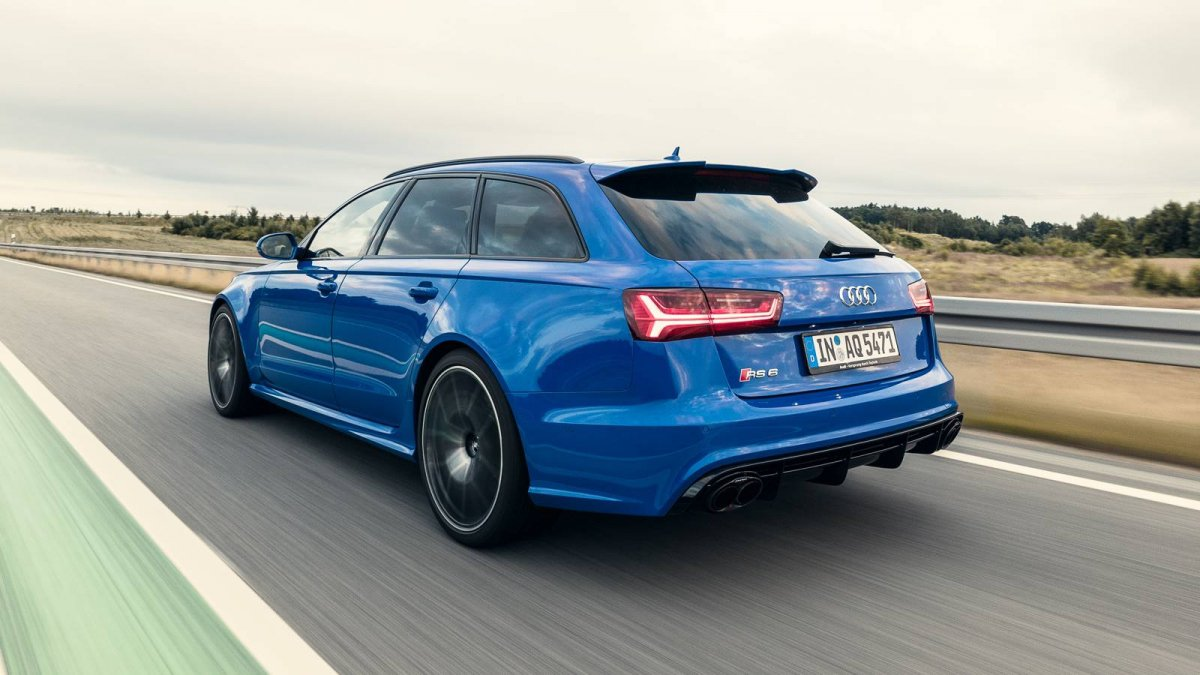 Audi releases 705-hp RS 6 Avant performance Nogaro Edition