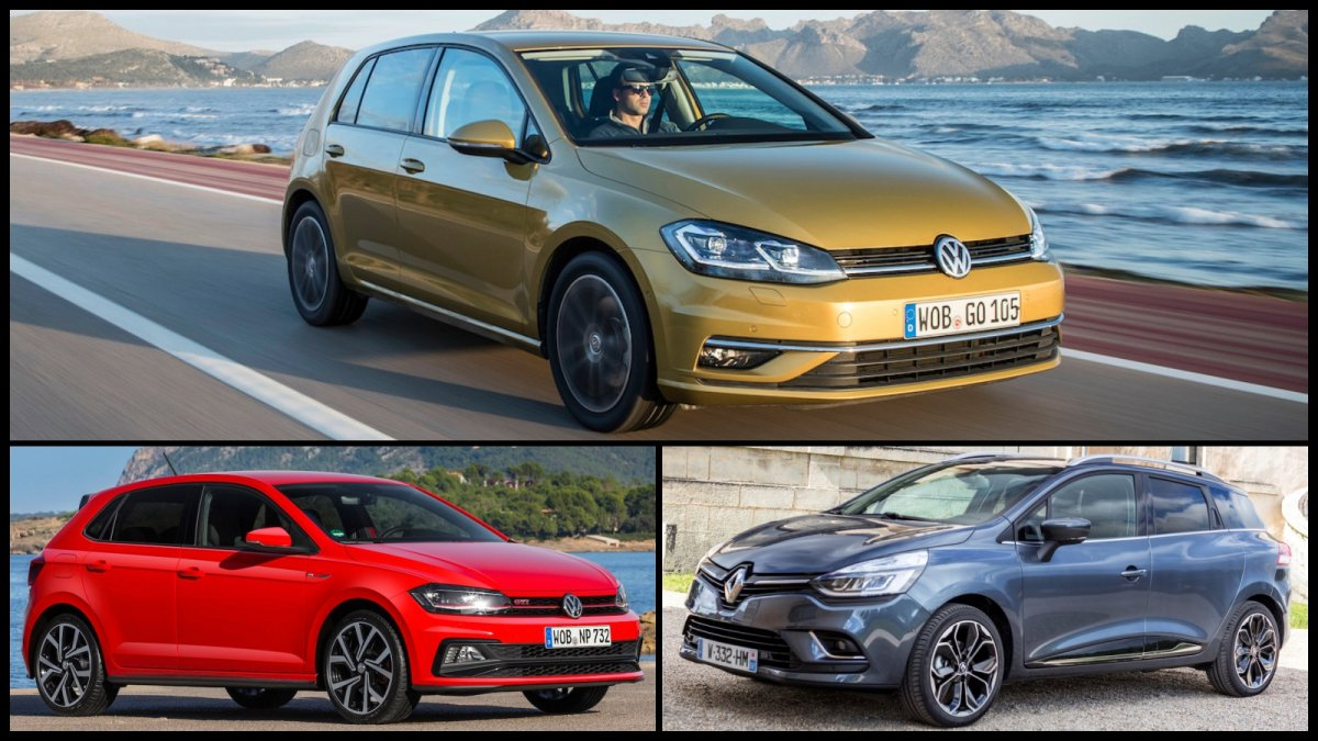 These are Europe\'s top 10 best-selling cars in 2017