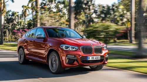 2018 BMW X4 front