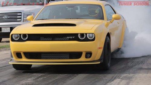 Dodge Demon Hennessey