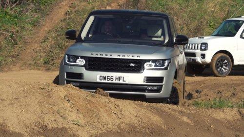 Range Rover vs Suzuki Jimni