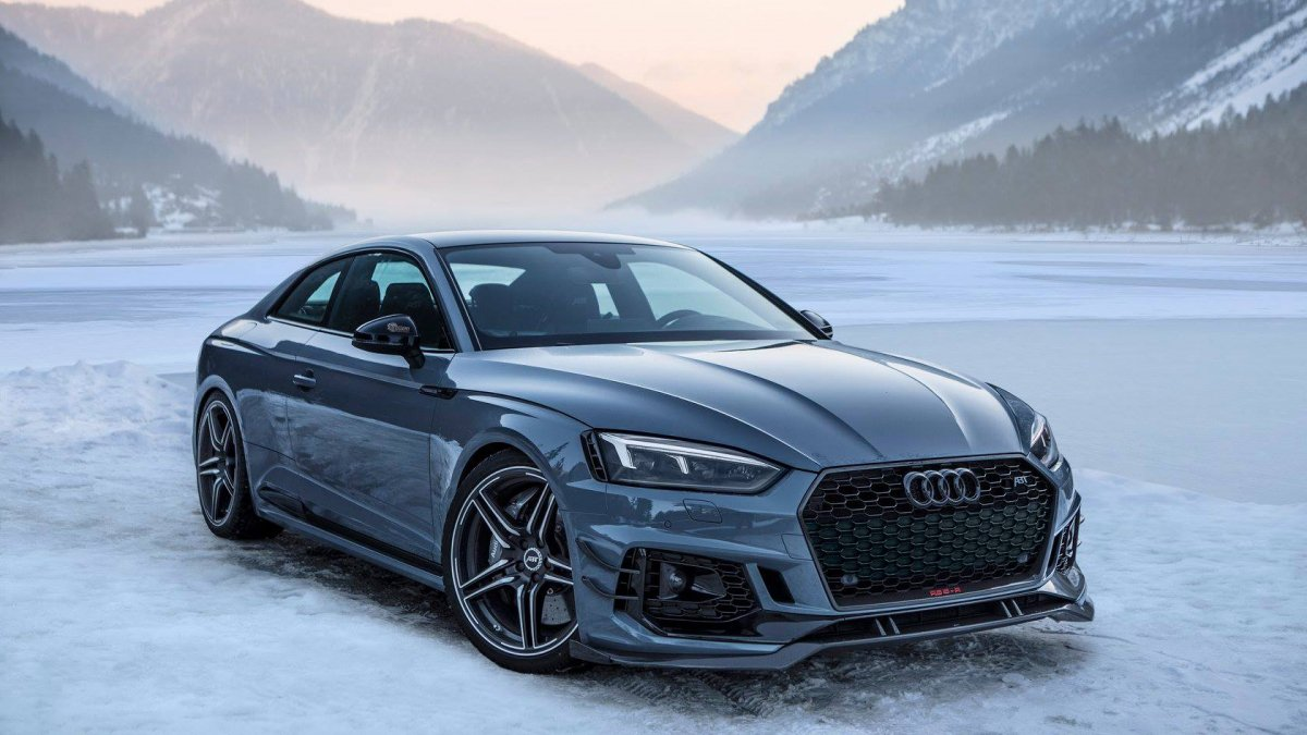 530 HP Audi RS5 tuned by ABT is the perfect Alps roadtrip car