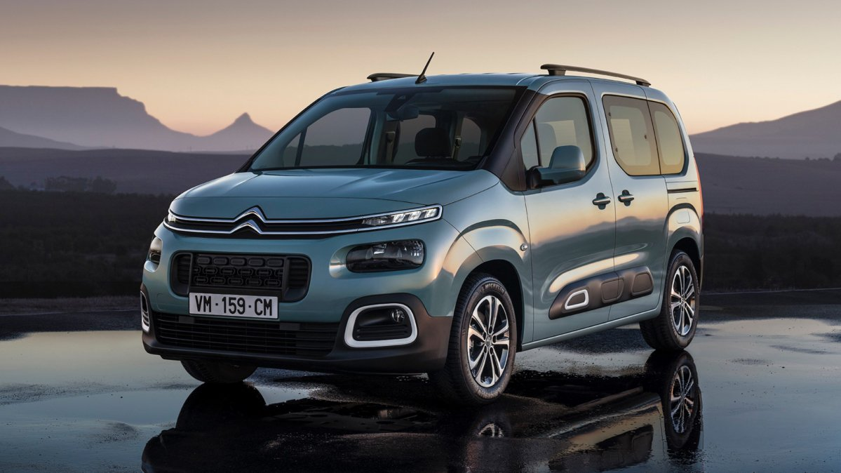 all new third gen citroen berlingo shows fresh face turbo. Black Bedroom Furniture Sets. Home Design Ideas