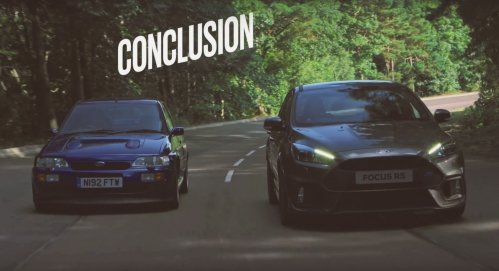 ford focus rs vs escort rs cosworth