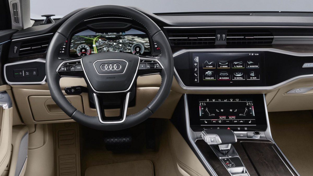 New 2019 Audi A6 revealed: mild hybrid and high-tech all over