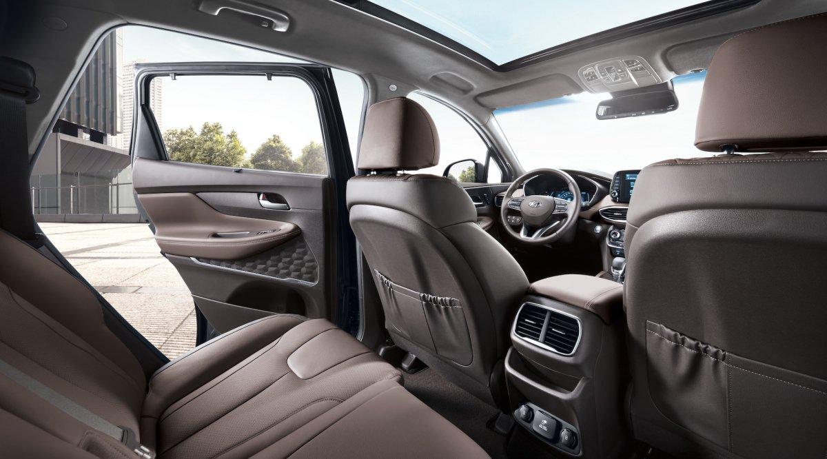 2019 7 Seater Suv >> New Hyundai Santa Fe now has a diesel engine