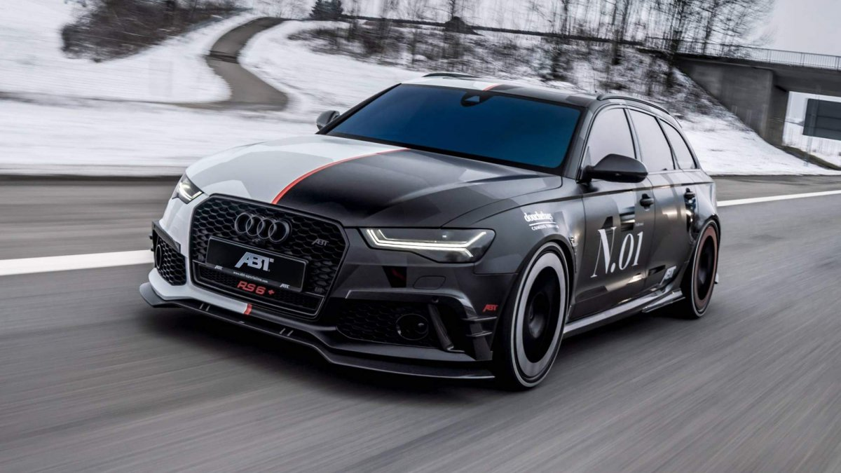 Check Out Jon Olsson S Newest Ride The One Off Abt Rs6