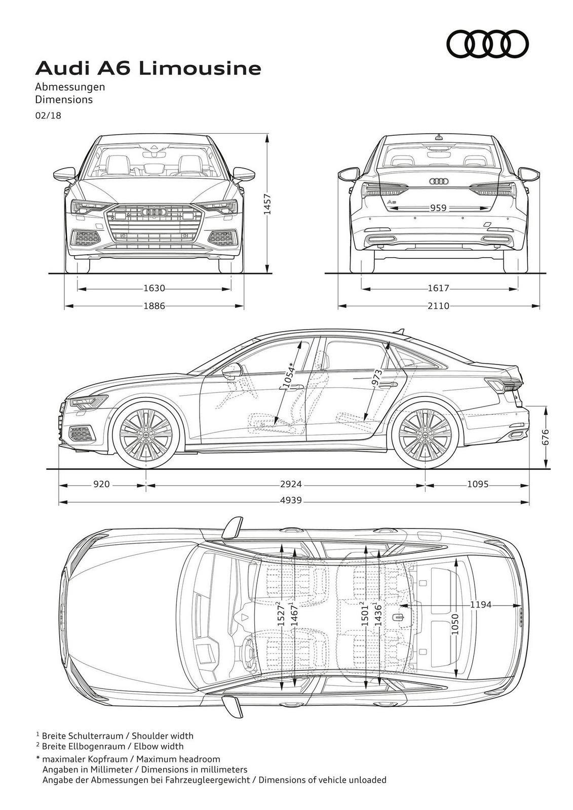 Audi A6 Interior Dimensions Auto Express