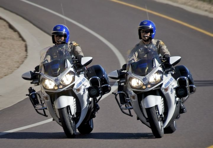 police kawasaki arizona chips motorcycles bikes patrol highway motorcycle troopers state used bike concours dps were motors cars custom az