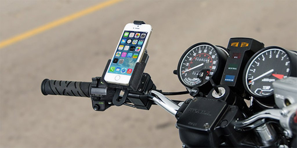 Five motorcycle phone mounts you should know about
