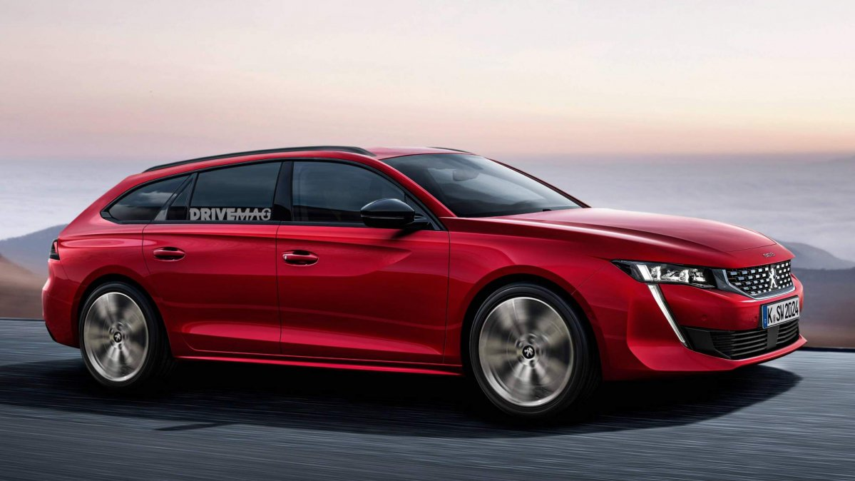 All-new 2018 Peugeot 508 SW should look a lot like this