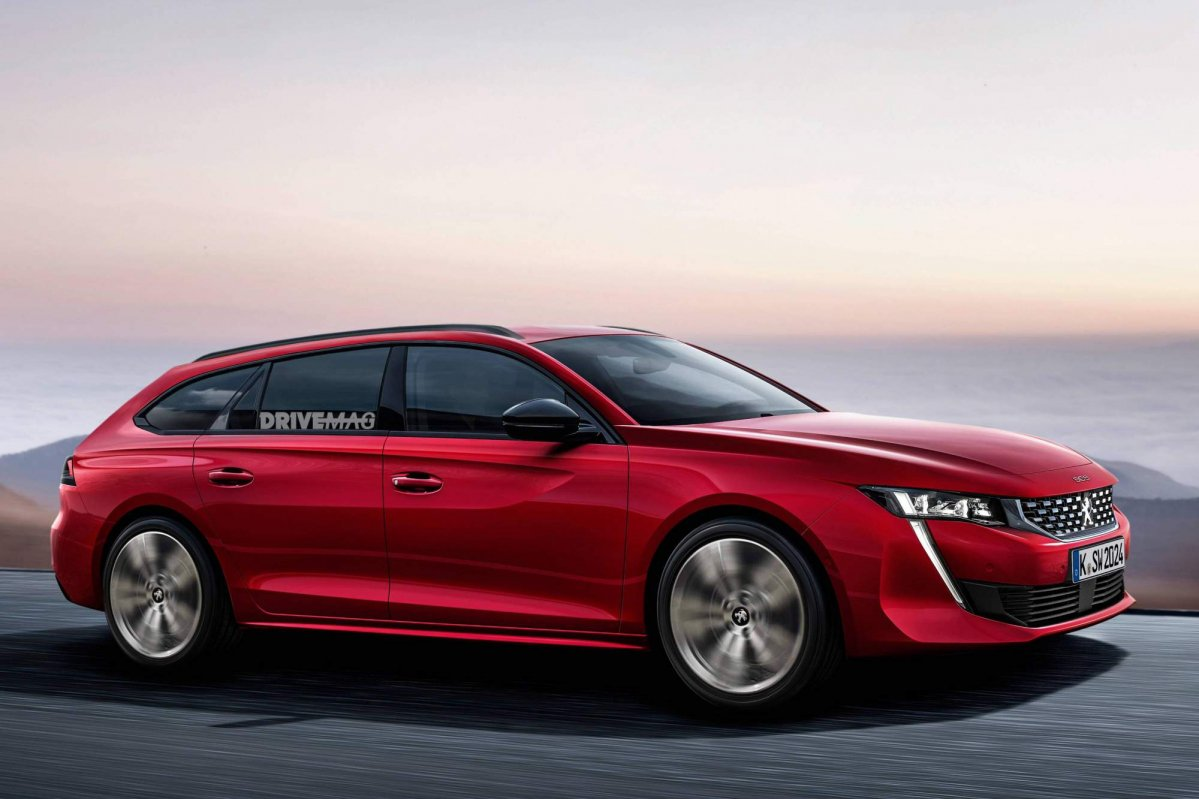 all new 2018 peugeot 508 sw should look a lot like this. Black Bedroom Furniture Sets. Home Design Ideas