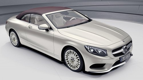 2018 Mercedes-Benz S Class Coupe Cabriolet Exclusive Edition 03