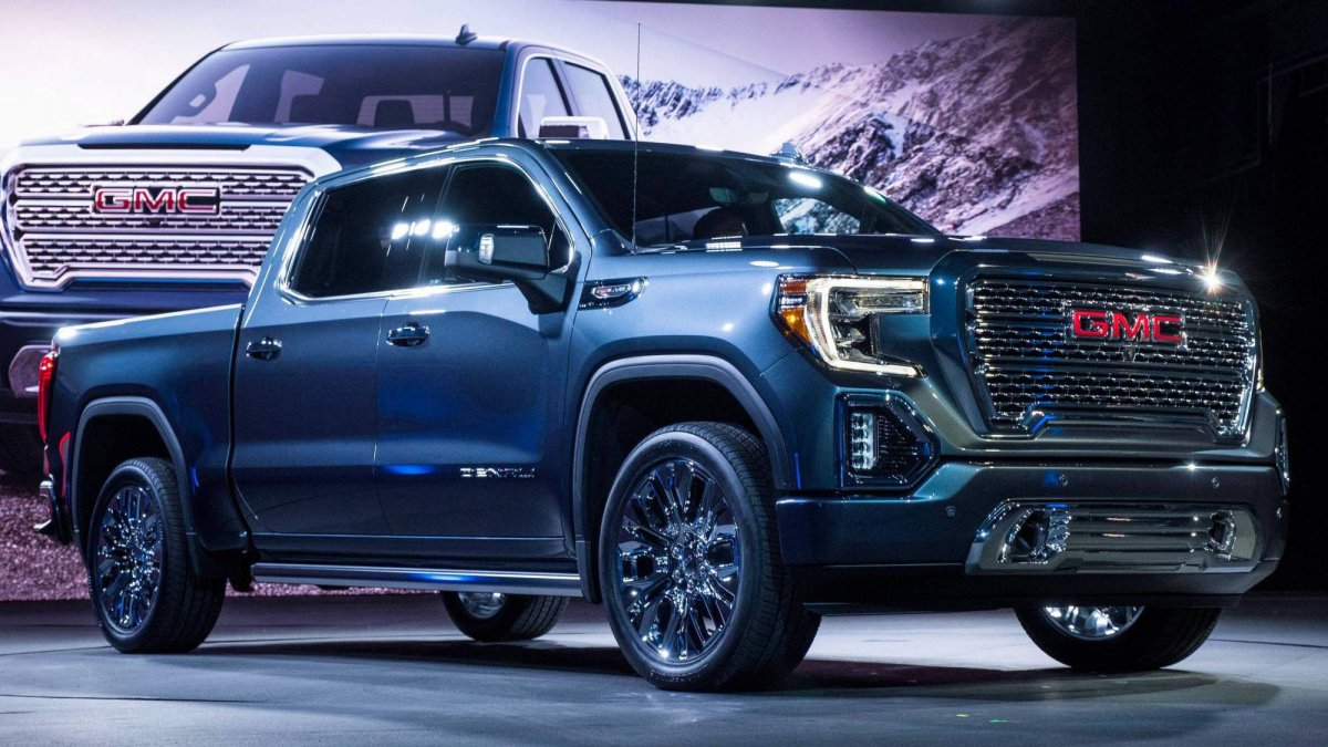 All-new 2019 GMC Sierra 1500 officially unveiled in Denali ...