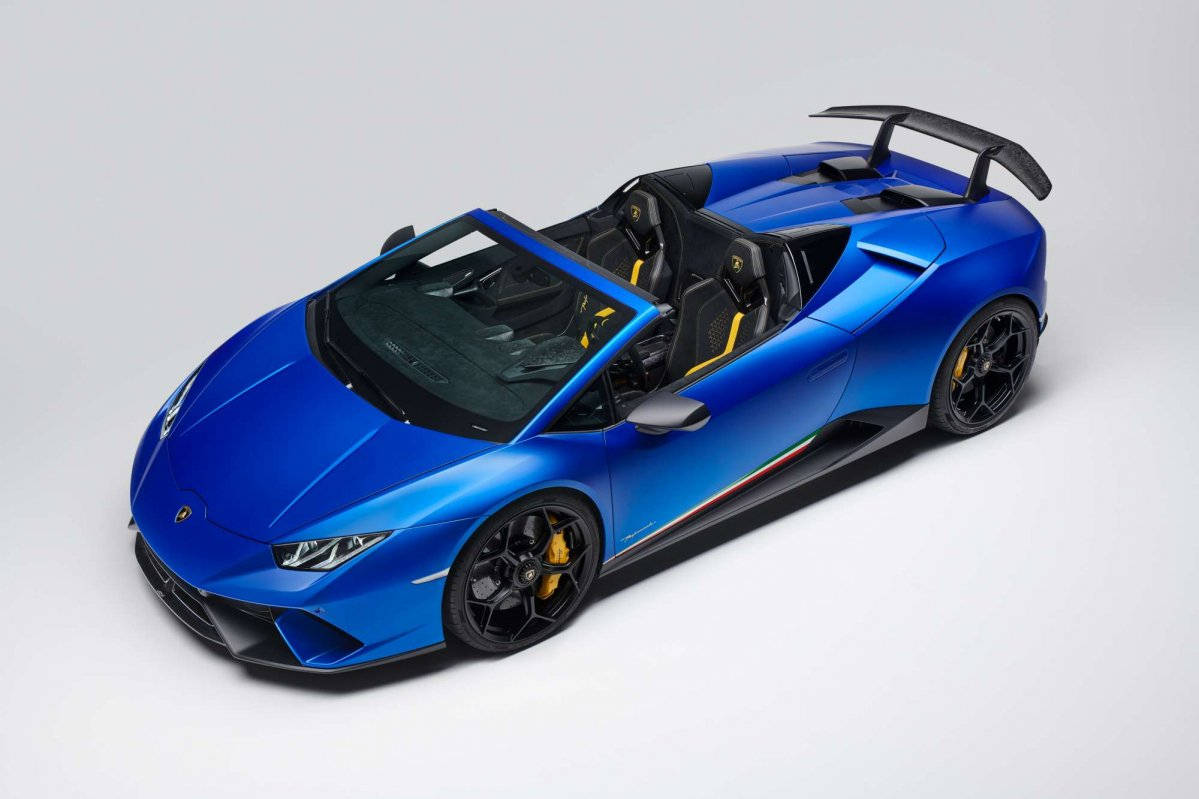 Roofless Lamborghini Hurac 225 N Spyder Performante Leaves Us