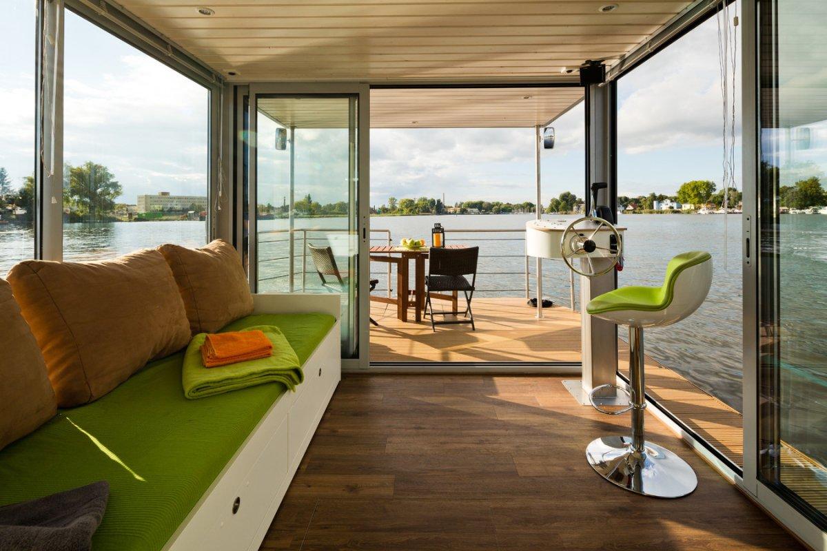 Nautilus Hausboote nautino mini is your floating house