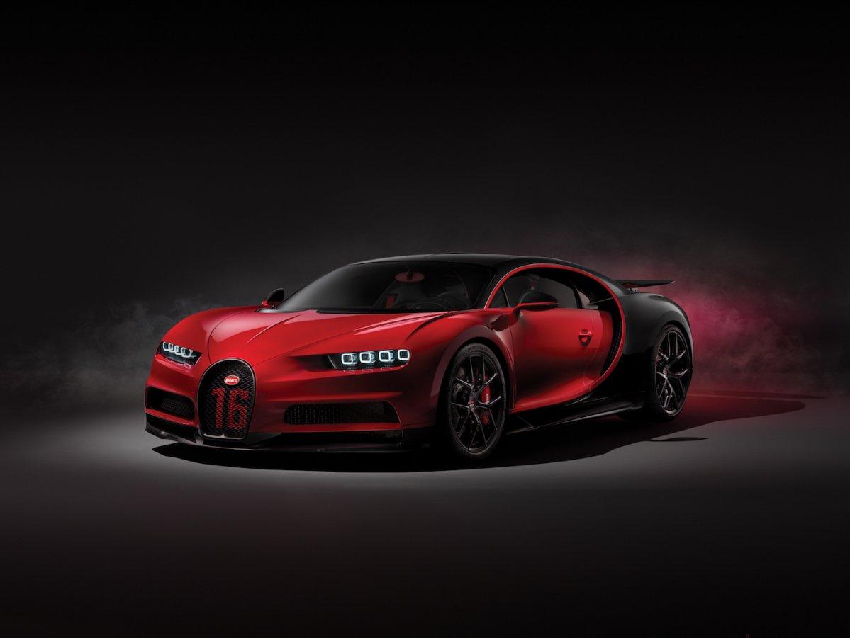 More Dynamic Bugatti Chiron Sport Enters Geneva 2018 In Devilish Trim