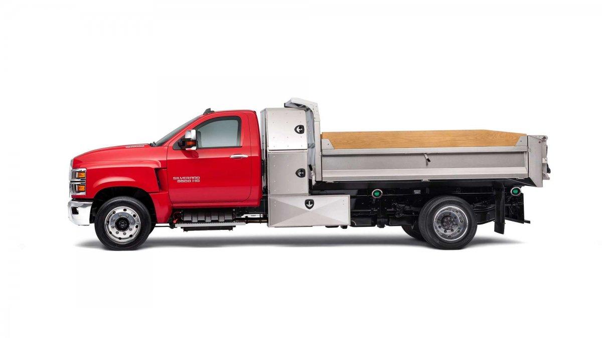 Chevrolet Unveils The Work Ready 2019 Silverado 4500 Hd