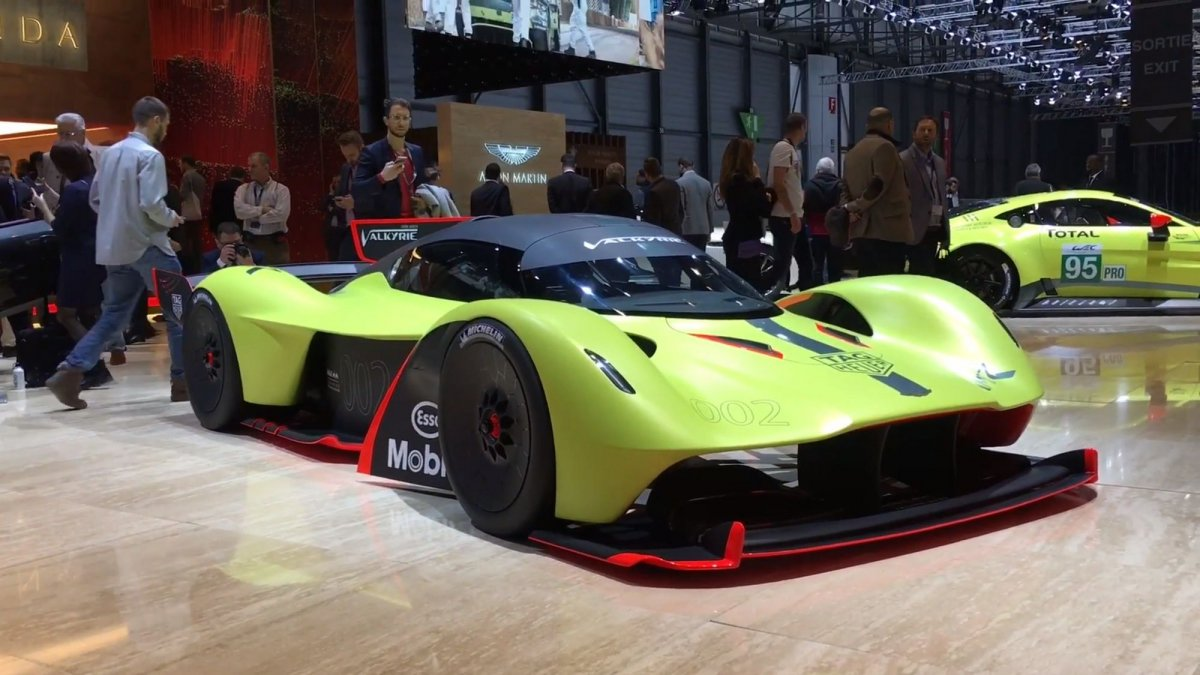 Aston Martin Valkyrie Amr Pro Generates More Than Its Own