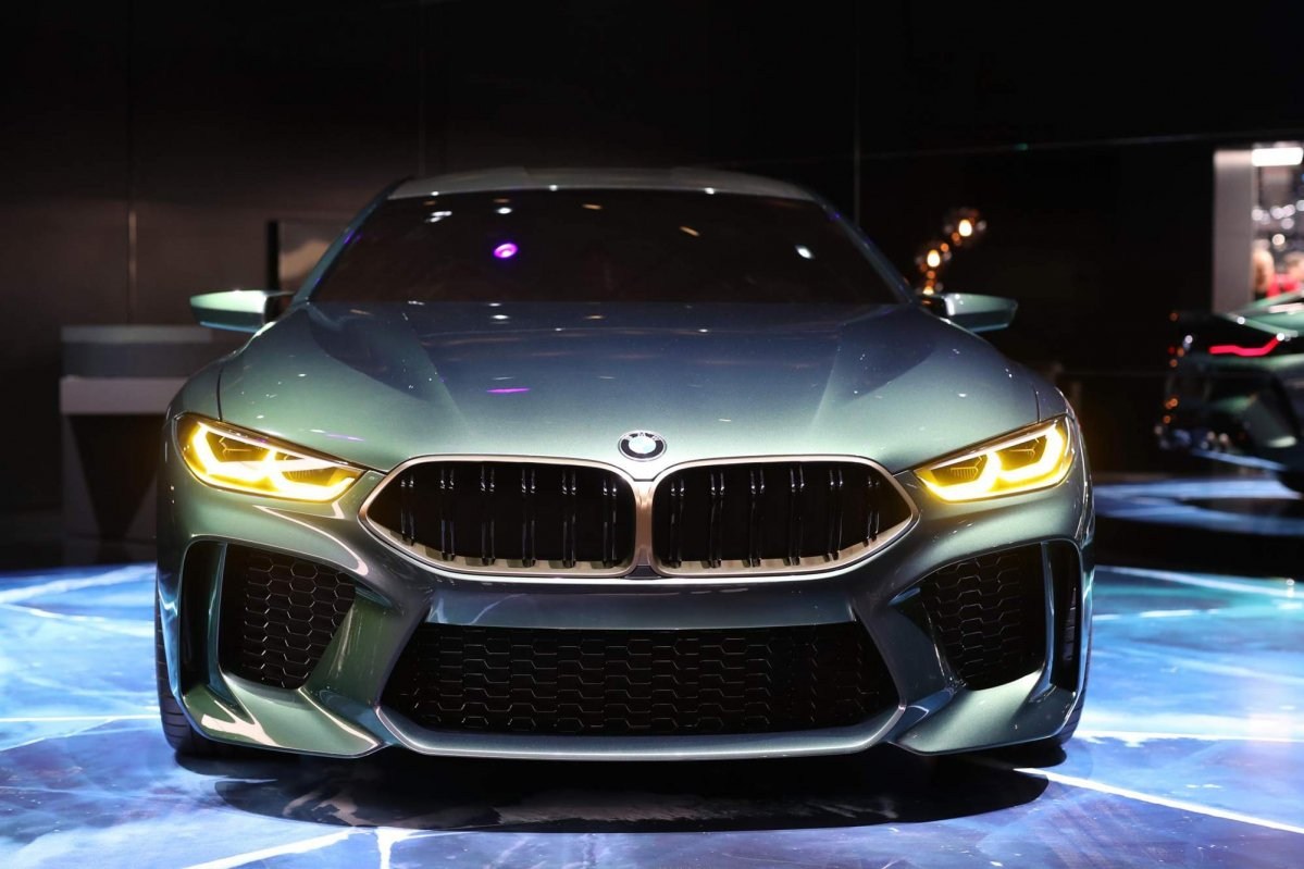 BMW unveils Concept M8 Gran Coupe at the Geneva Motor Show